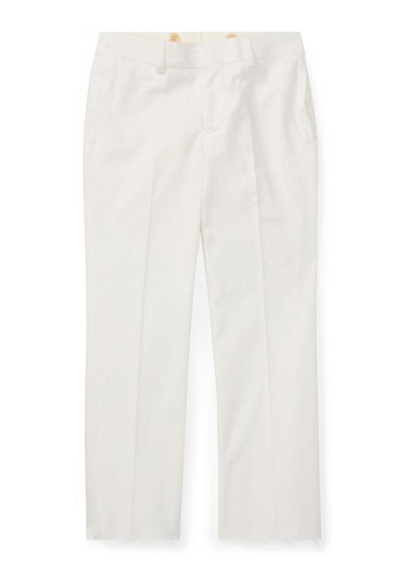Ralph Lauren Woodsman Pleated Cotton-Blend Pants