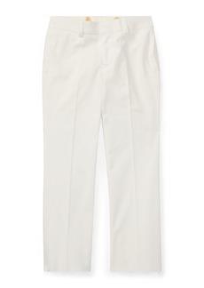 Ralph Lauren Childrenswear Woodsman Pleated Cotton-Blend Pants