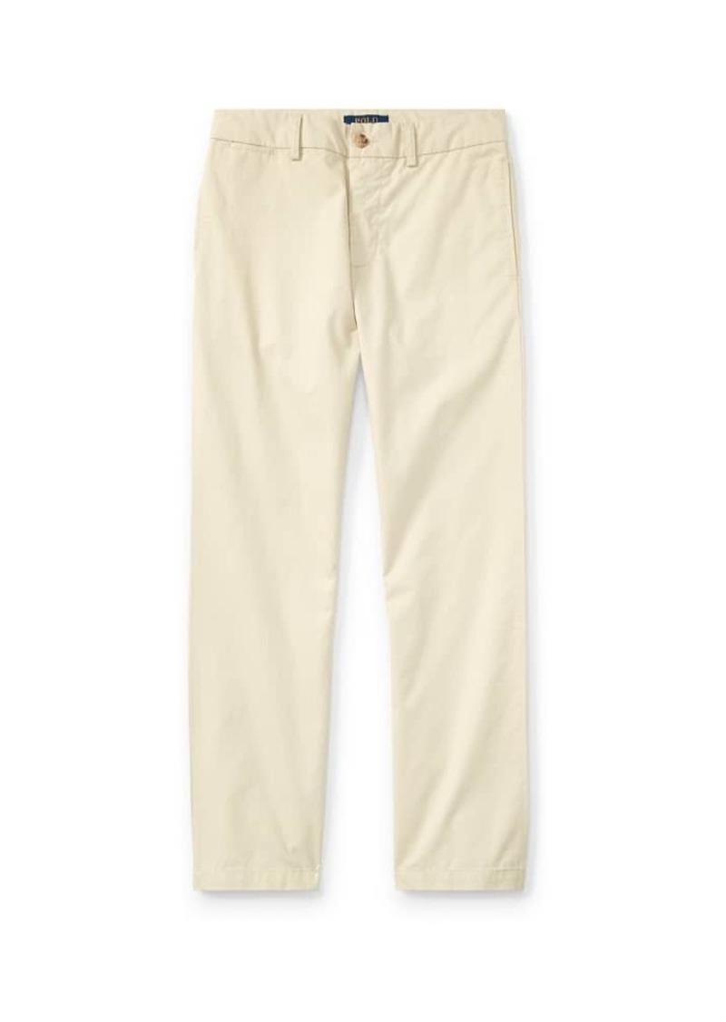 Ralph Lauren Chino Flat Front Straight Leg Pants  Size 8-14
