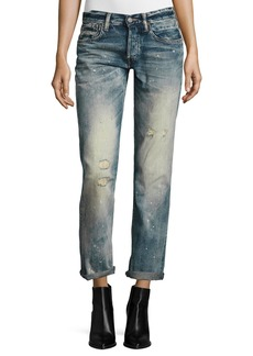 Ralph Lauren 320 Boyfriend Jeans  Blue