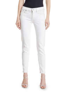 Ralph Lauren Collection 400 Matchstick Ankle Jeans  White