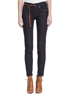Ralph Lauren 400 Matchstick Jeans with Harness