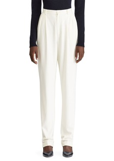 Ralph Lauren Collection Andela Pleated Straight-Leg Pants