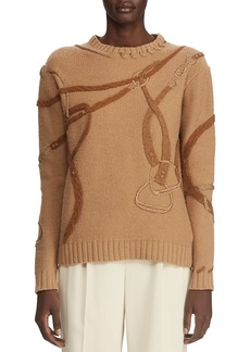 Ralph Lauren Collection Artisan Harness Sweater