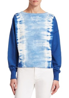Ralph Lauren Boby Tie-Dye Cotton Sweatshirt