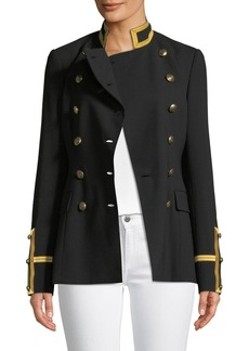 Ralph Lauren Collection Bryer Double-Breasted Military-Style Jacket