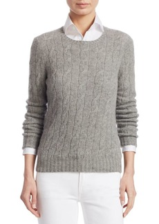 Ralph Lauren Iconic Style Cable-Knit Sweater