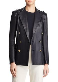 Ralph Lauren Collection Camden Leather Jacket
