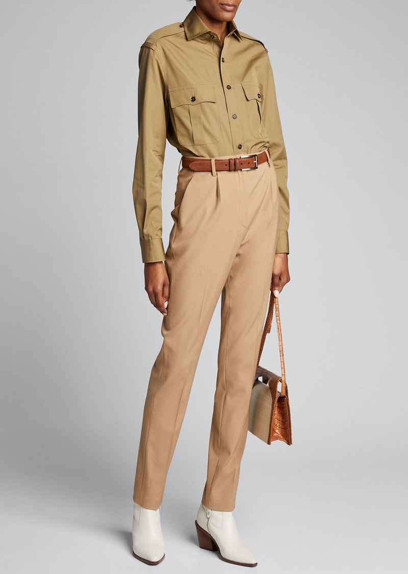 Ralph Lauren Collection Camden Safari Shirt