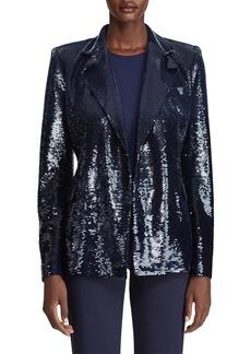 Ralph Lauren Collection Camden Sequined Blazer Jacket