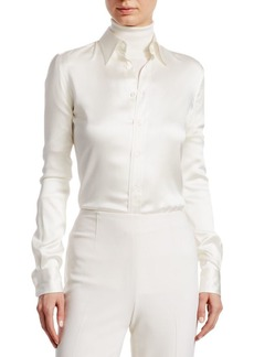Ralph Lauren Iconic Style Cindy Long Sleeve Shirt