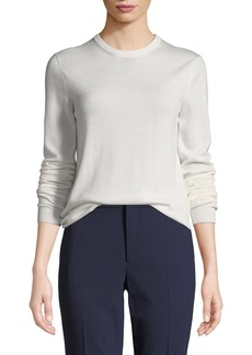 Ralph Lauren Collection Crewneck Long-Sleeve Cashmere Sweater