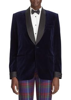 Ralph Lauren Collection Cyrene Velvet Menswear Jacket