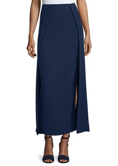 Ralph Lauren Collection High-Waist Carwash Midi Skirt
