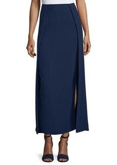 Ralph Lauren Collection High-Waist Carwash Midi Skirt