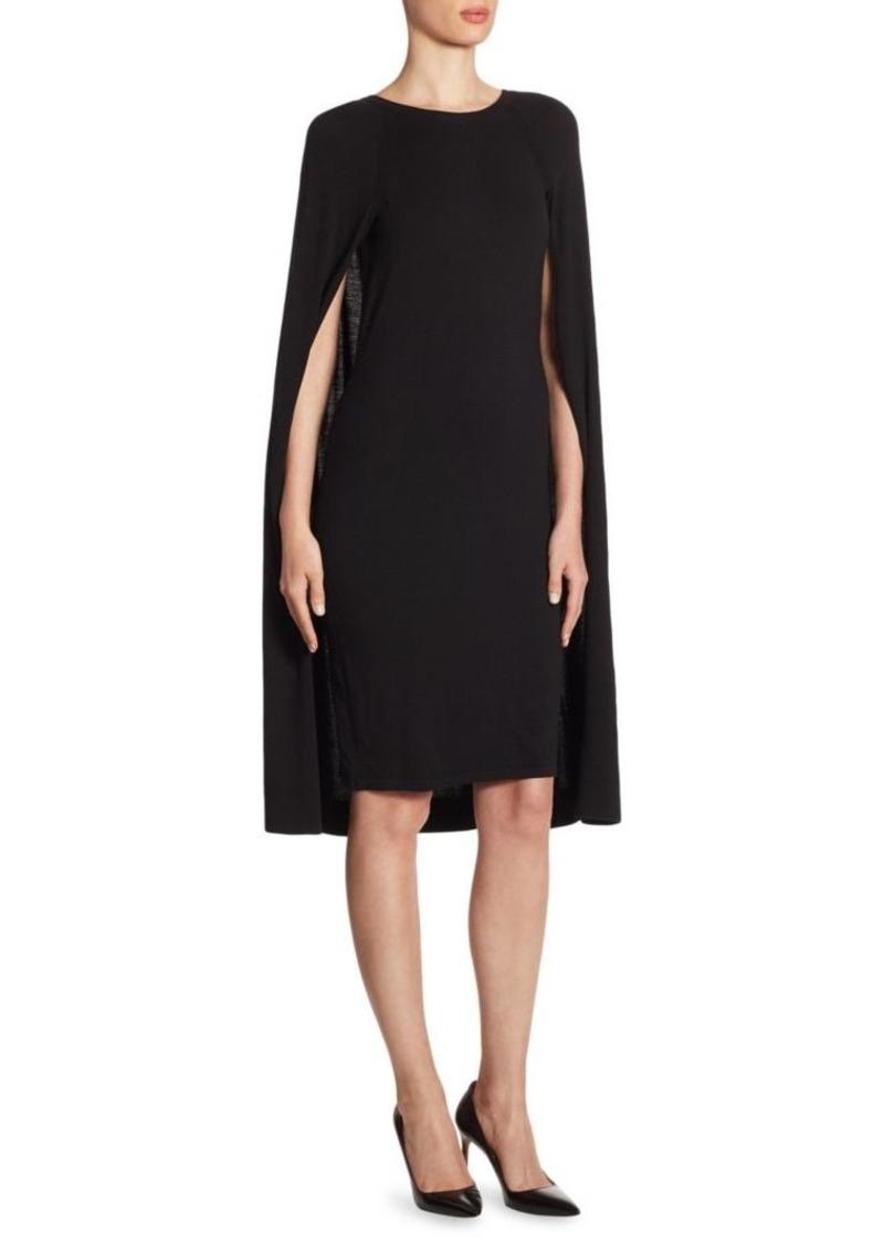 Ralph Lauren Iconic Style Cape Dress