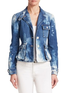 Ralph Lauren Isabele Denim Safari Jacket