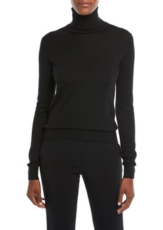Ralph Lauren Long-Sleeve Cashmere Turtleneck Sweater