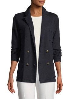 Ralph Lauren Collection Long-Sleeve Double-Breasted Cashmere Jacket