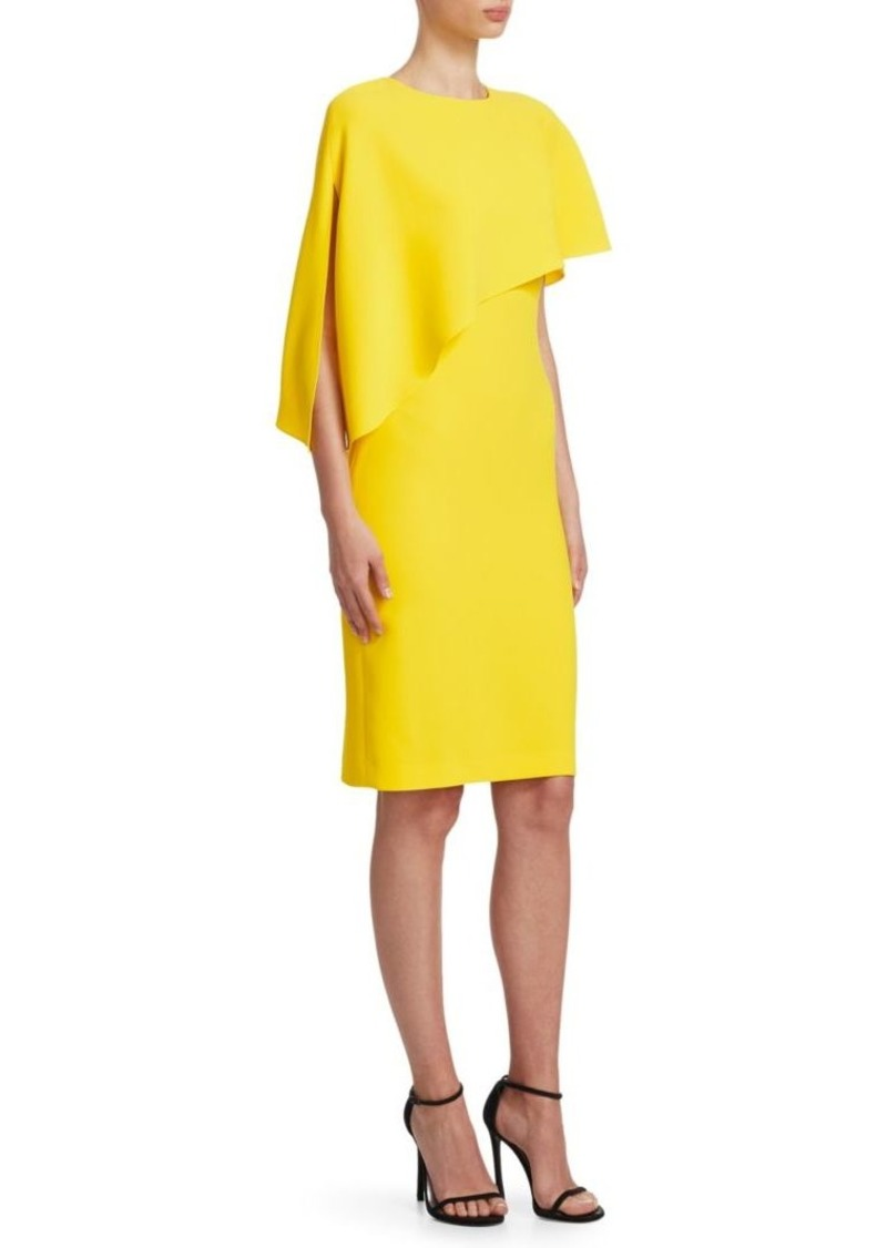 Ralph Lauren Marcela One-Shoulder Asymmetrical Dress