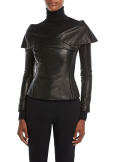 Ralph Lauren Maxine Leather Jacket