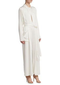 Ralph Lauren O'Reilly Silk Blend Jumpsuit