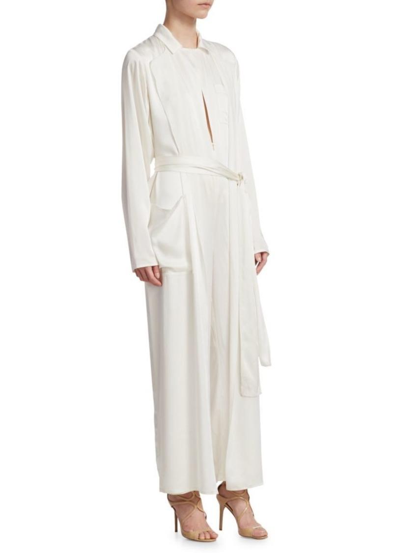 b91e9aaee74 Ralph Lauren O Reilly Silk Blend Jumpsuit