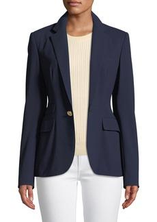 Ralph Lauren Collection Parker One-Button Wool Jacket