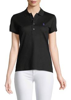 Ralph Lauren Collection Short-Sleeve Knit Polo Shirt