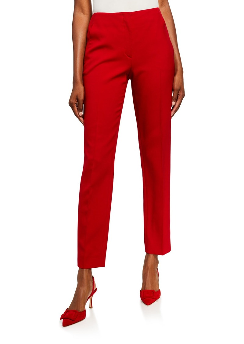 Ralph Lauren Collection Simone Straight-Leg Ankle Pants