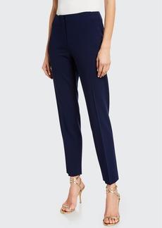 Ralph Lauren Collection Simone Wool Straight-Leg Pants