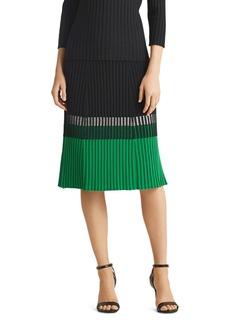 Ralph Lauren Color-Block Skirt