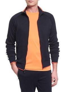 Ralph Lauren Colorblock Zip-Up Jersey Track Jacket