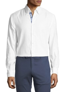 Ralph Lauren Contrast-Face Oxford Shirt