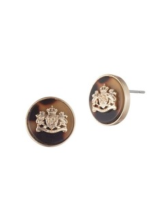 Ralph Lauren Crest Stud Earrings
