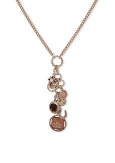 Ralph Lauren Crystal Charm Necklace
