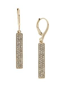 Ralph Lauren Crystal Drop Earrings