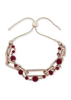 Ralph Lauren Crystal-Embellished Slider Bracelet