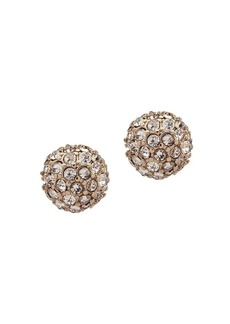 Ralph Lauren Crystal Fireball Stud Earrings