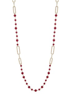 Ralph Lauren Crystal Single Strand Necklace