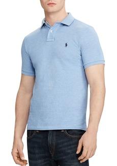 Ralph Lauren Custom Slim Fit Mesh Polo Shirt