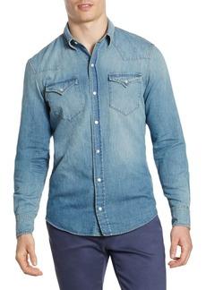 Ralph Lauren Denim Vail Western Casual Button-Down Shirt