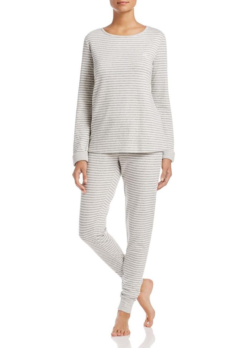 Ralph Lauren Double Face Knits Pajama Set