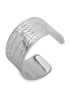 Ralph Lauren Embossed Wide Cuff Bracelet