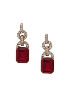 Ralph Lauren Faceted Crystal Drop Earrings