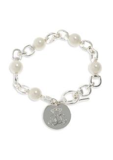 Ralph Lauren Faux Pearl Chain Bracelet