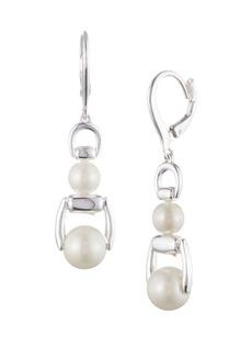 Ralph Lauren Faux Pearl Drop Earrings