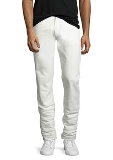 Ralph Lauren Five-Pocket Stretch-Cotton Pants  White