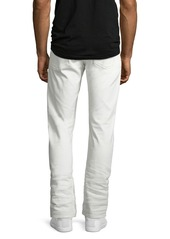Ralph Lauren Five-Pocket Stretch-Cotton Pants  White