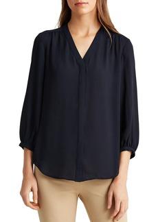 Lauren Ralph Lauren Georgette Shirt